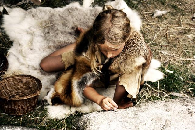 pige fra stenalderen